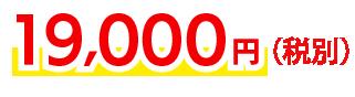 19,000円〜(税別)